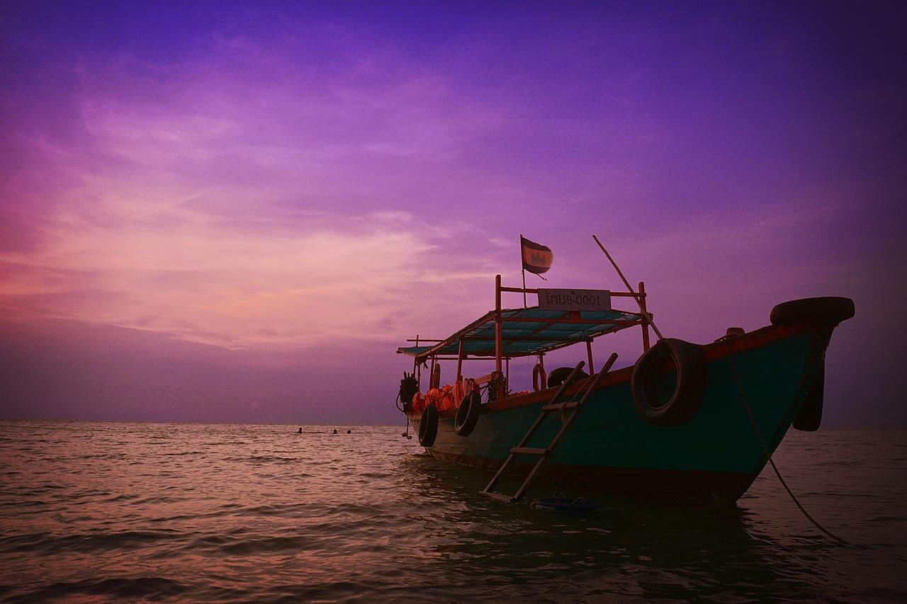 Kampot au Cambodge